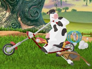 奶牛狂奔族