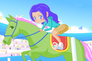 骑马的女孩