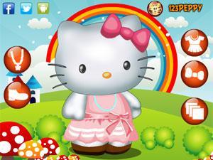 可爱的kitty猫