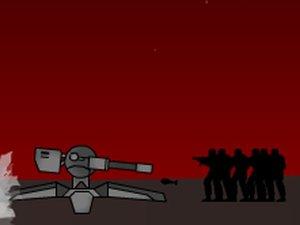 红星炮塔守城