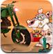 老鼠沙漠骑摩托