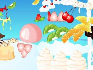 美味水果圣代