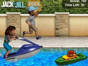 杰克与吉尔玩转泳池