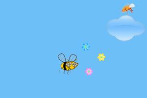 复眼大黄蜂