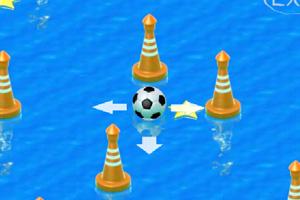 水上的足球