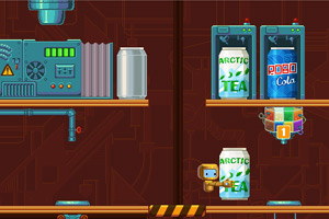 碳酸饮料制作工厂