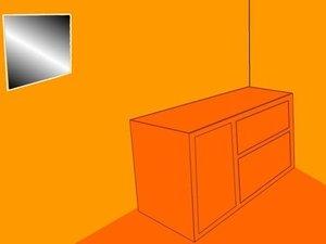 橙色盒子房