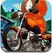 冰雪公园骑摩托