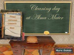 母校的清洁日
