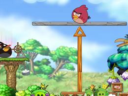愤怒的小鸟之平衡木