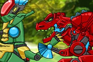 组装机械怪兽找茬