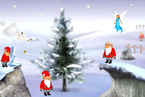 圣诞节精灵树