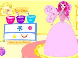 做芭比娃娃蛋糕