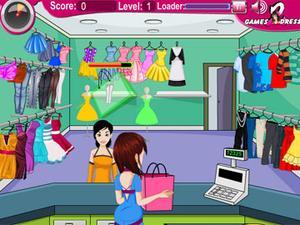 忙碌服装店