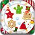 装饰圣诞饼干