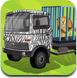 大卡车拉动物
