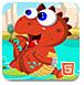 恐龙水上跳跃