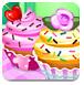 花朵纸杯蛋糕