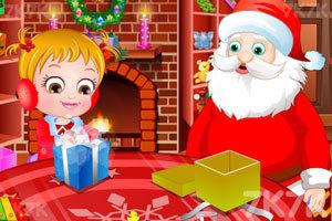 可爱宝贝的圣诞梦想