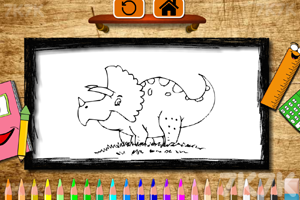 恐龙儿童图画册